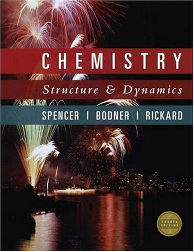 9780470129289: Chemistry: Structure and Dynamics