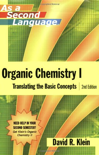 9780470129296: Organic Chemistry as a Second Language