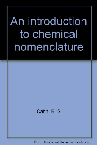 9780470129319: An introduction to chemical nomenclature