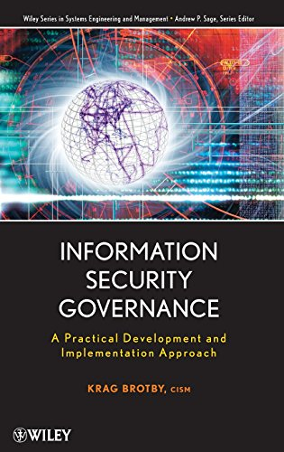 9780470131183: Information Security Governance: A Practical Development and Implementation Approach