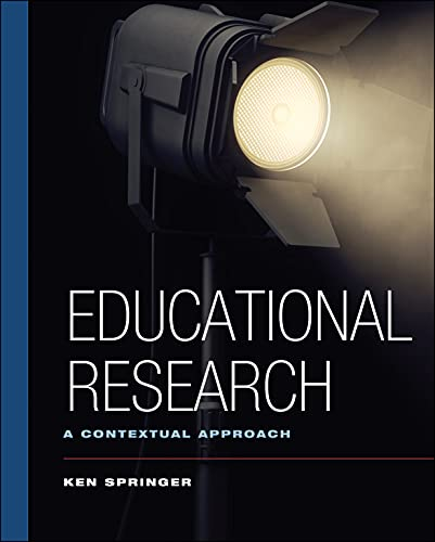 9780470131329: Educational Research: A Contextual Approach