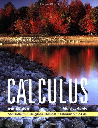 9780470131589: Calculus: Multivariable