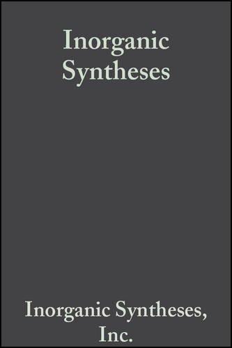 9780470131763: Inorganic Syntheses (Volume 15)