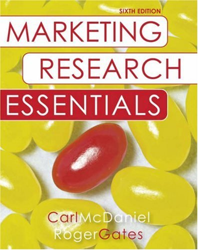 9780470131985: Marketing Research Essentials with SPSS