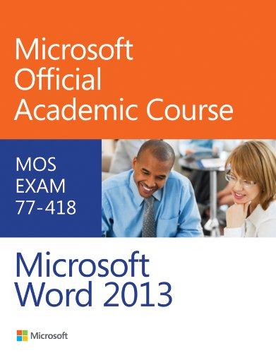 9780470133071: Exam 77-418 Microsoft Word 2013