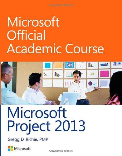 9780470133125: Microsoft Project 2013