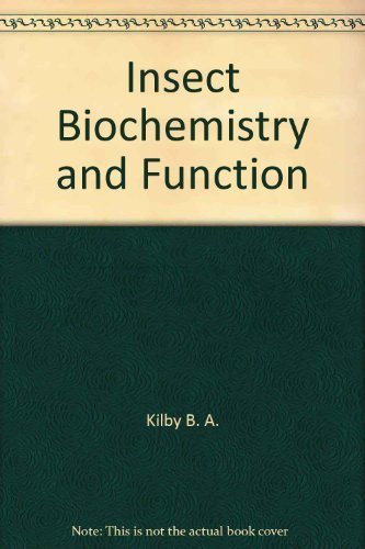 9780470133477: Insect biochemistry and function