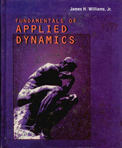 9780470133859: Fundamentals of Applied Dynamics Revised Printing