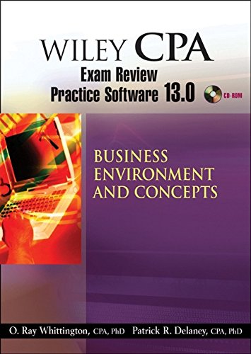 9780470135273: Wiley CPA Examination Review Practice Software 13.0 BEC