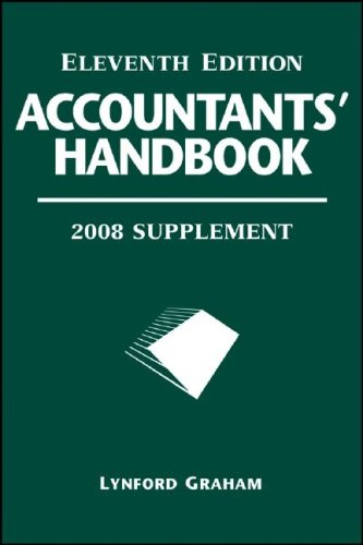 Accountants' Handbook, 2008 Supplement (Accountants Handbook Supplement): l