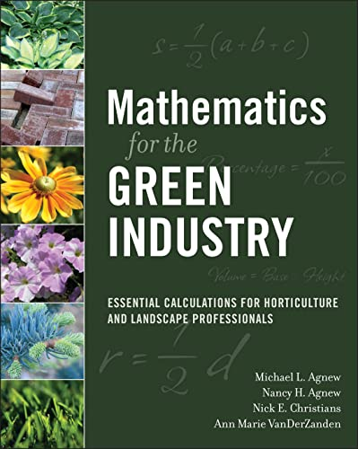 9780470136720: Mathematics for the Green Industry
