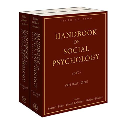 9780470137475: Handbook of Social Psychology (2 Volume Set)