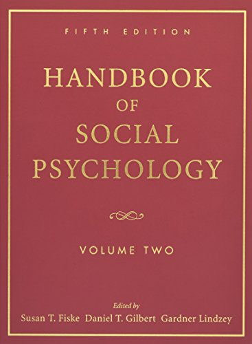 9780470137499: Handbook of Social Psychology, Volume 2