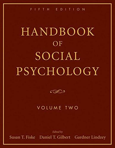 9780470137499: 2: Handbook of Social Psychology: Volume Two
