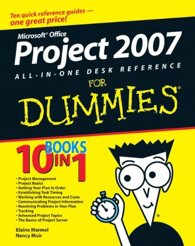 9780470137673: Microsoft Project 2007 All-In-One Desk Reference for Dummies