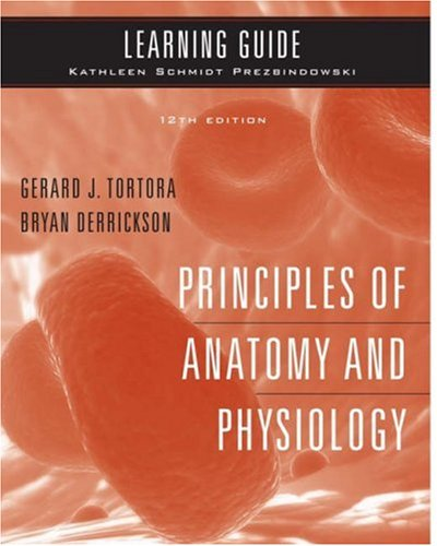 9780470138052: Learning Guide to accompany Principles of Anatomy and Physiology, 12e