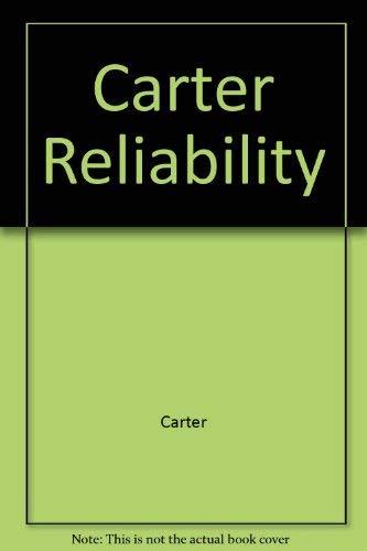 9780470138526: Mechanical Reliability