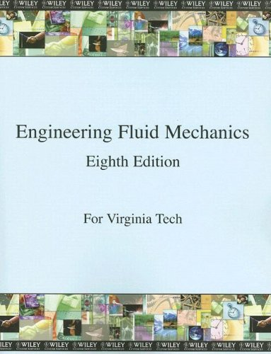 WCS)Engineering Fluid Mechanics 8th Edition for Virginia: Donald F. Elger