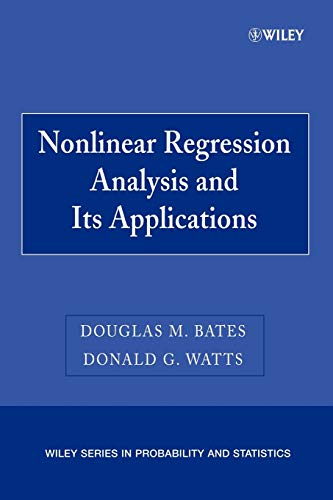 9780470139004: Nonlinear Regression Analysis   Applns P (Wiley Series in Probability and Statistics)