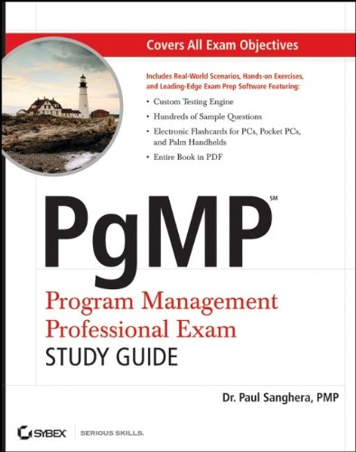 9780470139981: PgMP: Program Management Professional Exam Study Guide
