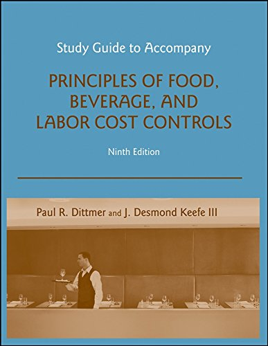 9780470140567: Study Guide to accompany Principles of Food, Beverage, and Labor Cost Controls, 9e
