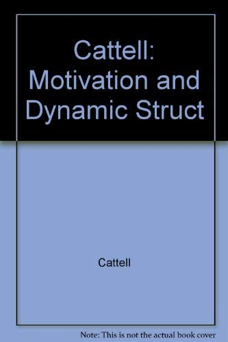 9780470140819: Motivation and Dynamic Structure
