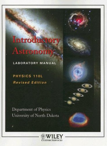 9780470144725: (WCS)Introductory Astronomy Laboratory Manual