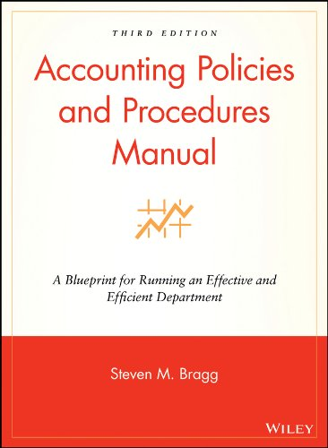 9780470146620: Accounting Policies and Procedures Manual: A Blueprint for Running an Effective and Efficient Department