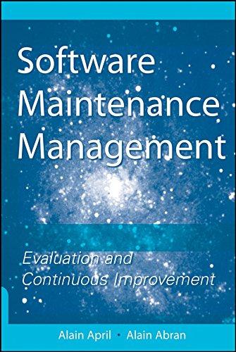9780470147078: Software Maintenance Management: Evaluation and Continuous Improvement