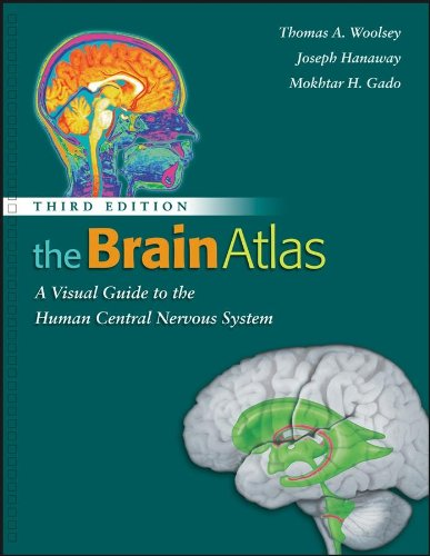 9780470148228: The Brain Atlas: A Visual Guide to the Human Central Nervous System