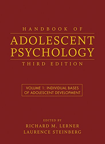 9780470149218: Handbook of Adolescent Psychology: Individual Bases of Adolescent Development: v. 1