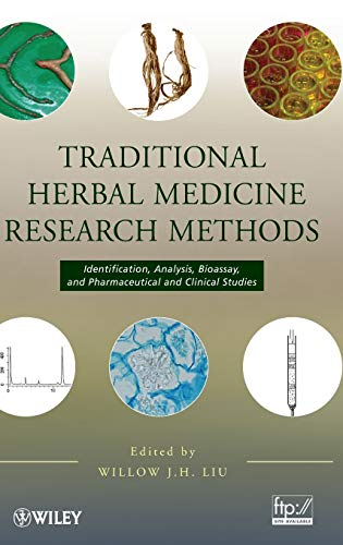 9780470149362: Traditional Herbal Medicine Research Methods: Identification, Analysis, Bioassay, and Pharmaceutical and Clinical Studies