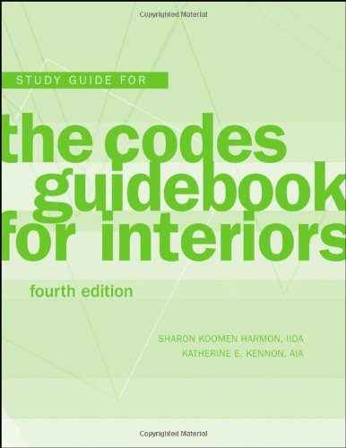 9780470149409: The Codes Guidebook for Interiors, Study Guide
