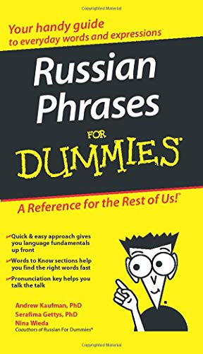9780470149744: Russian Phrases for Dummies