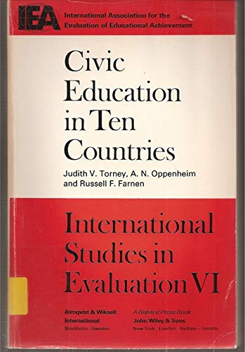 9780470149898: Civic Education in Ten Countries: An Empirical Study (International Studies in Evaluation VI)