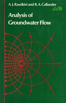 9780470151174: Analysis of Groundwater Flow by Callander R. A.; Raudkivi A. J.