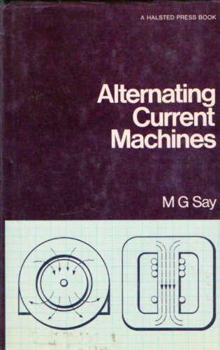 9780470151334: Alternating Current Machines