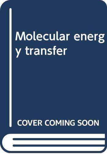 Molecular energy transfer: Other Contributor-Raphael D.