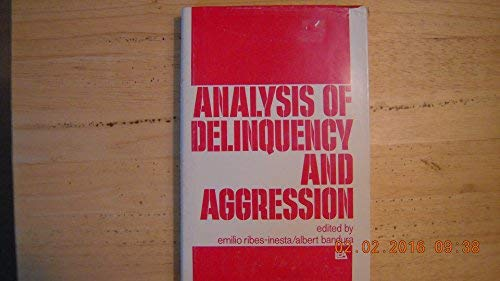 9780470152270: Analysis of Delinquency and Aggression