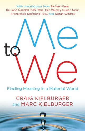 9780470153642: Me to We : Finding Meaning in a Material World