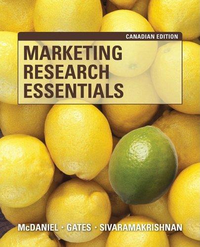 9780470154113: Marketing Research Essentials, Canadian Edition [Taschenbuch] by