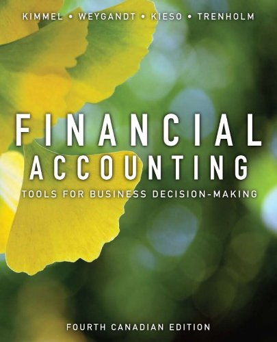 Financial Accounting Tools for Business Decision Making: Paul D. Kimmel,
