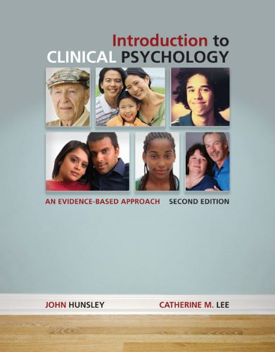 9780470156858: Introduction to Clinical Psychology An Evidence-Based Approach