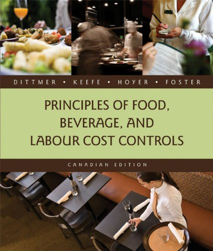 9780470158180: Principles of Food, Beverage, and Labour Cost Controls [Hardcover]; Hoyer, Gary