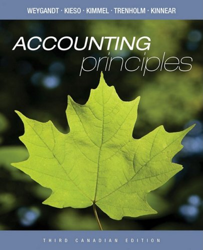 9780470160015: Accounting Principles, 3rd Canadian Edition