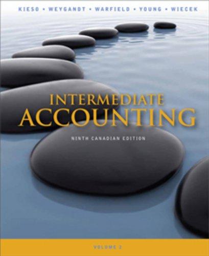 9780470161012: Intermediate Accounting: Volume 2