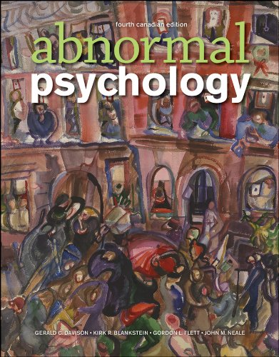 Abnormal Psychology: Gerald C. Davison,