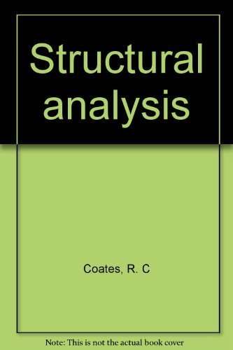 9780470161395: Structural analysis