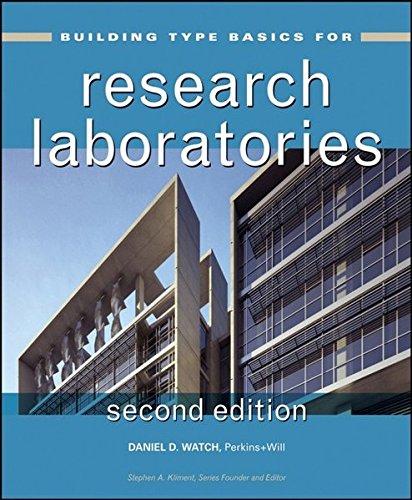 Building Type Basics for Research Laboratories: Watch, Daniel/ Kliment,