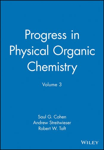 9780470164204: Progress in Physical Organic Chemistry, Volume 3 (v. 3)